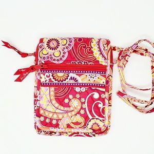 Vera Bradley Carson Crossbody Mini Bag Paisley